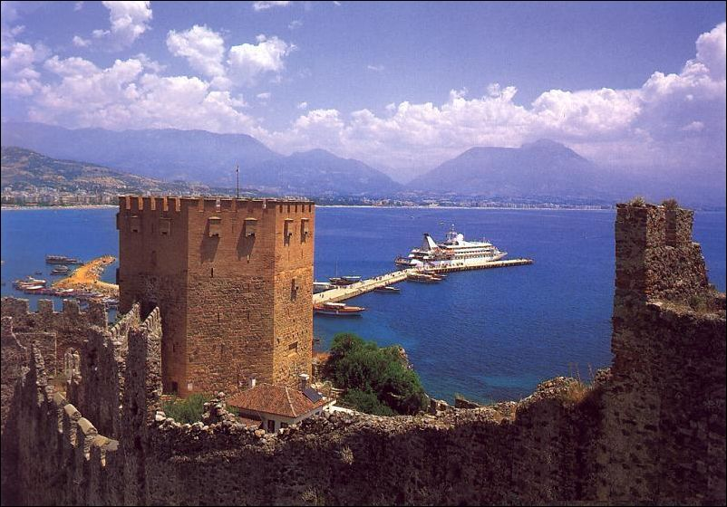 Alanya Red Tower