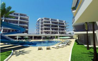 Luxury apartments with 5 star hotel facilities in Oba