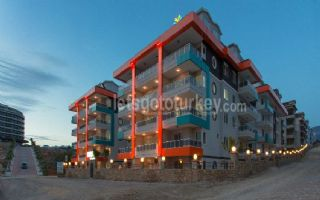 Luxury apartments in Kestel only 150 metres to beach
