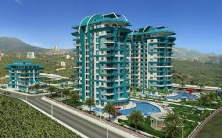 Good value apartments in Mahmutlar with great facilities