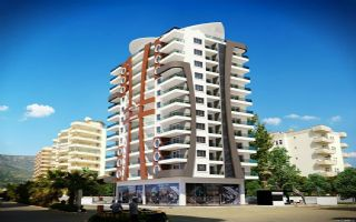 New, attractive apartments in Mahmutlar