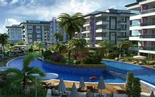 Modern residential complex in Kestel, just 200 metres from beach