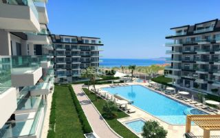 Off Plan Apartments With Sea View For Sale in Kargicak