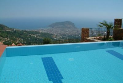 Amazing Sea & City View Villas in Tepe