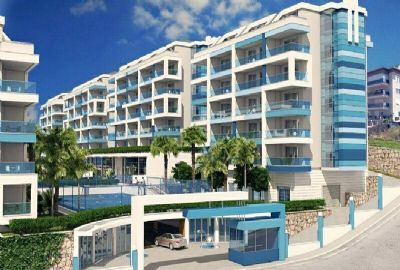 Exclusive apartments in Kestel, 300 metres to the beach