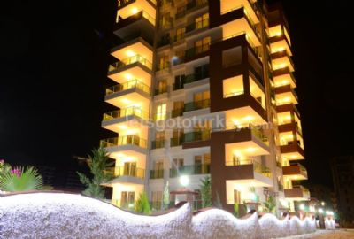 One- bedroom apartments with good facilities in Mahmutlar