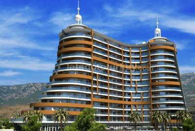 Modern Residential Complex With Finest Architecture in Mahmutlar