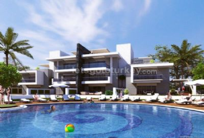 Luxury apartments close to beach in Sorgun