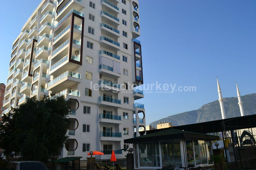 Good value apartments in Mahmutlar centre