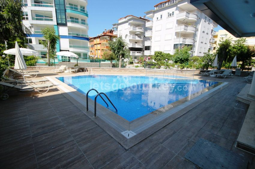 Fully Furnished Apartments For Rent Close To Beach In Oba Alanya